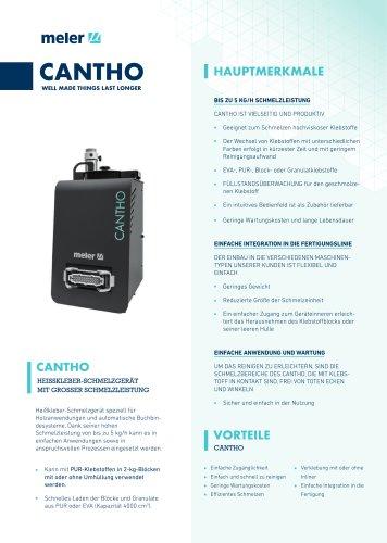 Cantho: Pumpenlose Schemelzeinheit