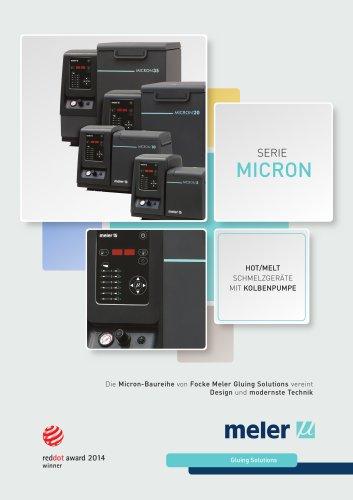 Micron Kolbenpumpenserie