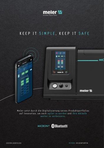 Der Schmelzkleber Micron+ jetzt mit Bluetooth®