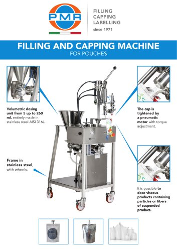 DOYPACK FILLING & CAPPING MACHINE