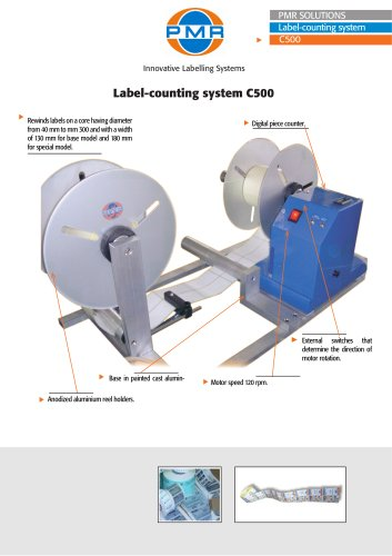 Label-counting system C500