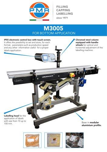 M3005 FOR BOTTOM APPLICATION
