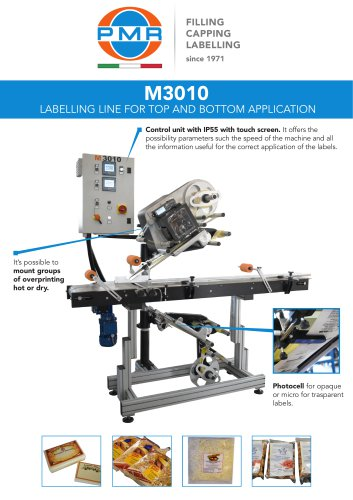 M3010 LABELLING LINE FOR TOP & BOTTOM APPLICATION