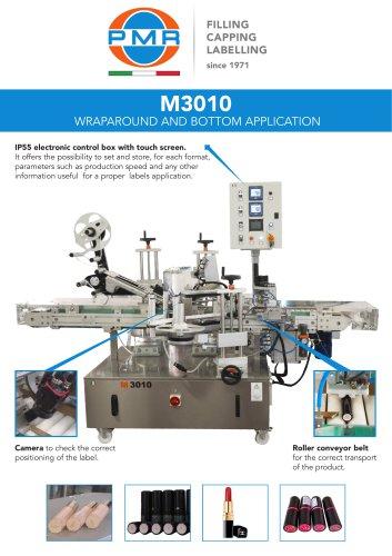 M3010 WRAPAROUND AND BOTTOM APPLICATION