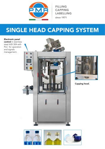 SINGLE HEAD CAPPING SYSTEM