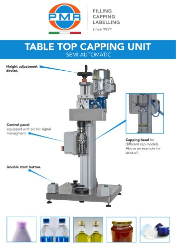 TABLE TOP CAPPING UNIT
