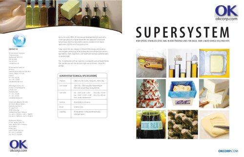 SUPERSYSTEM Oils & Fats