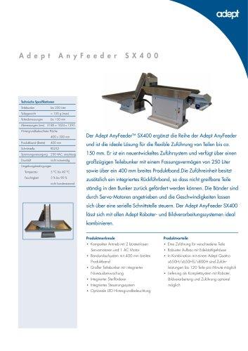 Adept AnyFeeder SX400