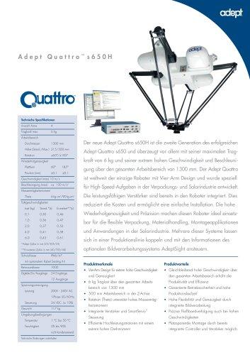 Adept Quattro s650H
