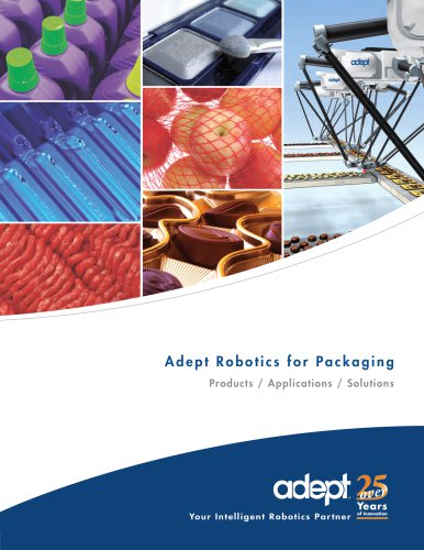 Adept Robotics for Packaging