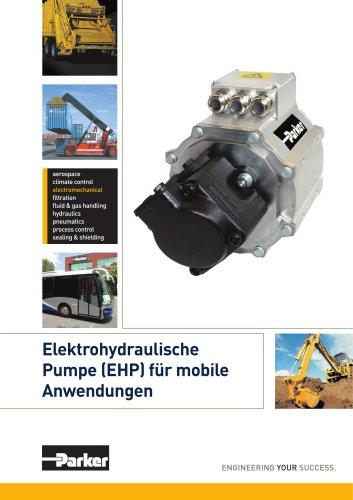 Elektrohydraulische Pumpe (EHP) für mobile Anwendungen