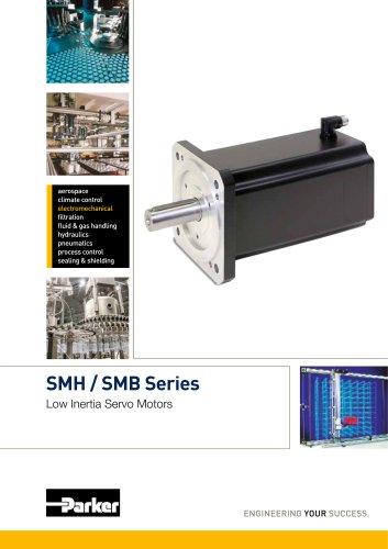 SMH / SMB Series - Low Inertia Servo Motors