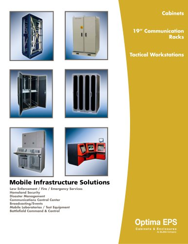 Optima-Stantron Cabinets Catalog