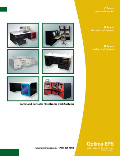 Optima Stantron Desks and Consoles Catalog