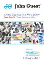 JG speedfit drinks dispense & pure water catalogue feb 2015