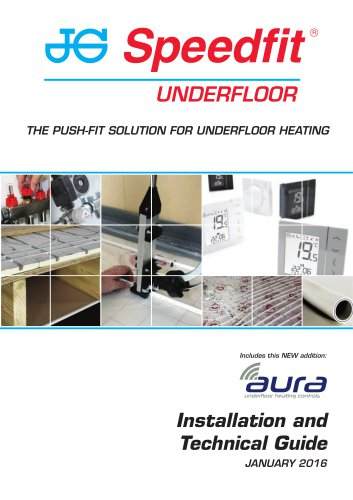 THE PUSH-FIT SOLUTION FOR UNDERFLOOR HEATING