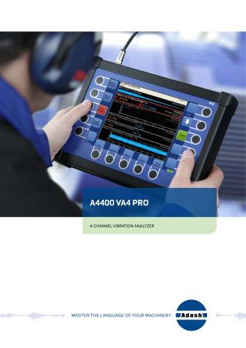 4 channel vibration analyzer