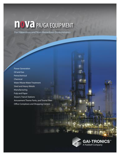 NOVA Digitally Controlled PA/GA System