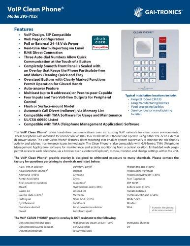 VoIP Clean Phone®