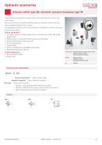 Pressure switch type DG / DG series