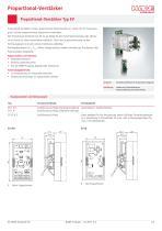 Proportional-Verstärker Typ EV / EV series