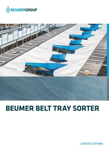 BEUMER Belt Tray Sorter