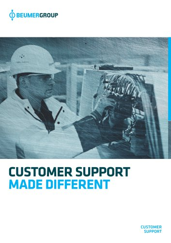 BEUMER Customer Support