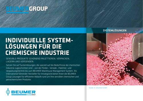 BEUMER Individuelle System-Lösungen für die Chemische Industrie