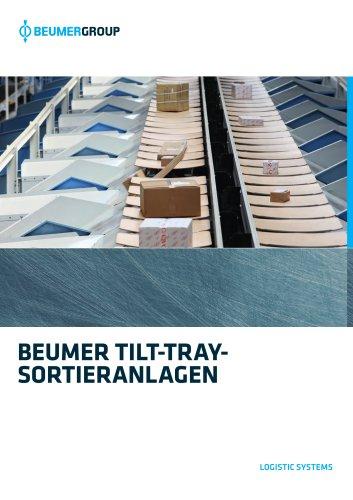 BEUMER Tilt-Tray-Sortieranlage