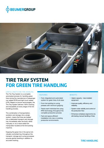 BEUMER Tire Tray System