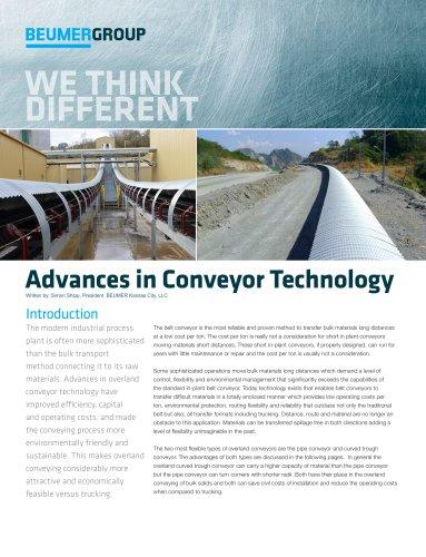 Whitepaper: Advances in Conveyor Technology
