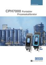 CPH7000 Portabler Prozesskalibrator