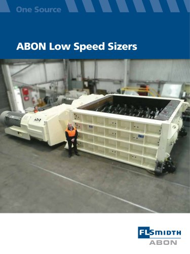 ABON Low Speed Sizers