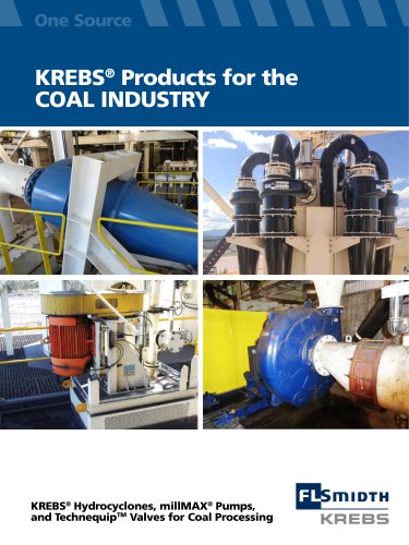 KREBS® Products for the COAL INDUSTRY