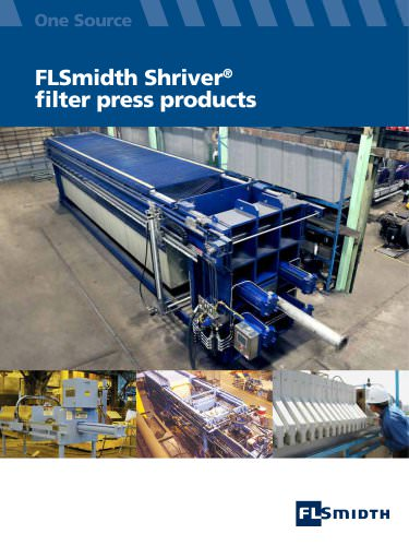 Shriver Filter Press