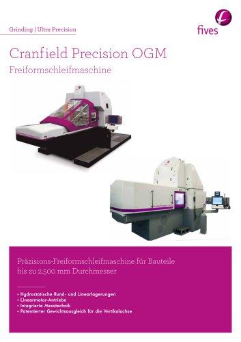 Cranfield Precision OGM Freiformschleifmaschine