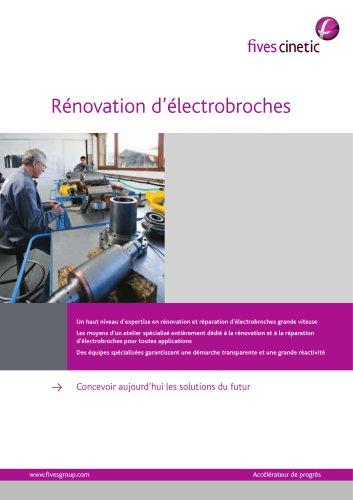 Electrospindle repair workshop