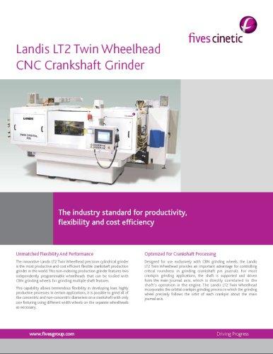LT2 Twin Wheelhead - Crankshaft Pin Grinders