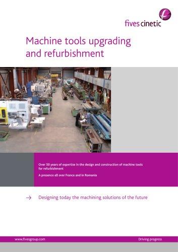 Refurbishment / Machine Rebuilding