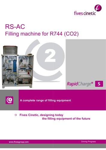 RS-AC Filling machine for R744 (CO2)