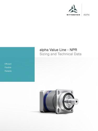 alpha Value Line - NPR