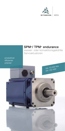 SPM+/ TPM+ endurance