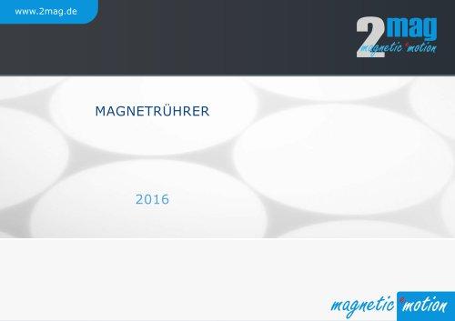 2mag Magnetrührer 2016