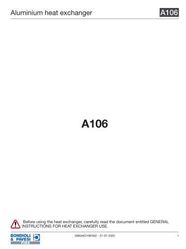 Aluminium Heat Exchanger | A106