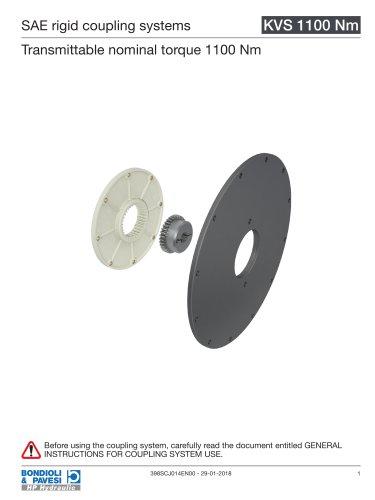 Rigid Coupling Systems - KVS 1100 Nm