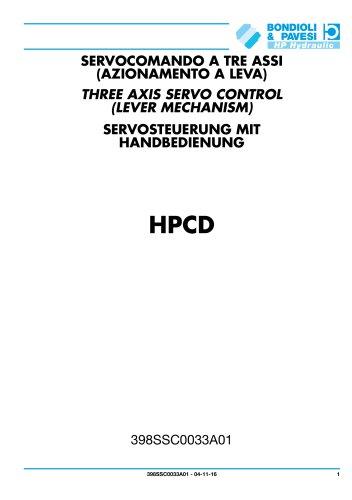Servosteuerung mit handbedienung - HPCD