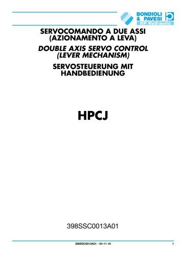 Servosteuerung mit handbedienung - HPCJ