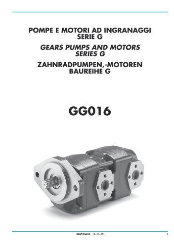 Zahnradpumpen und Motoren - Guss gerhäuse