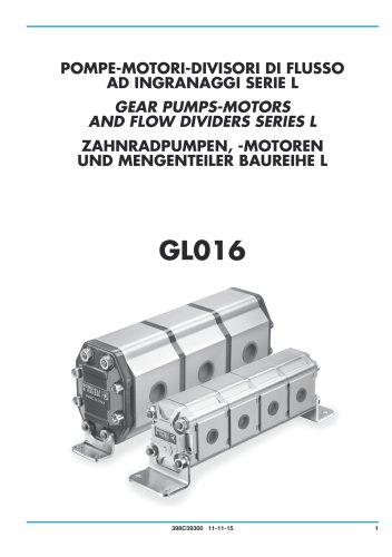 Zahnradpumpen, Motoren und Mengenteiler - Aluminium gehäuse