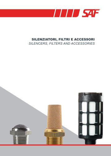 2019 SAF's Silencers Filters and Accessories Catalogue